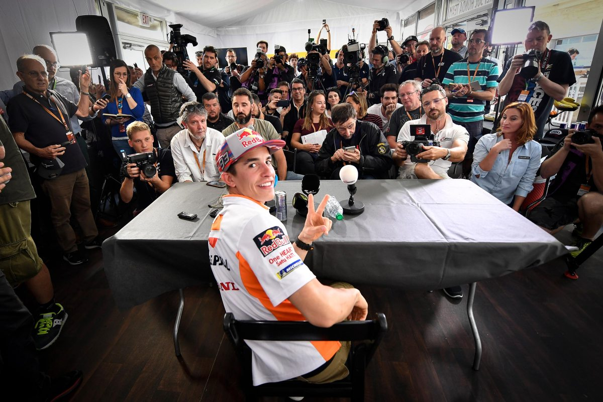 Thursday MotoGP Summary at Austin: Handling Shenanigans